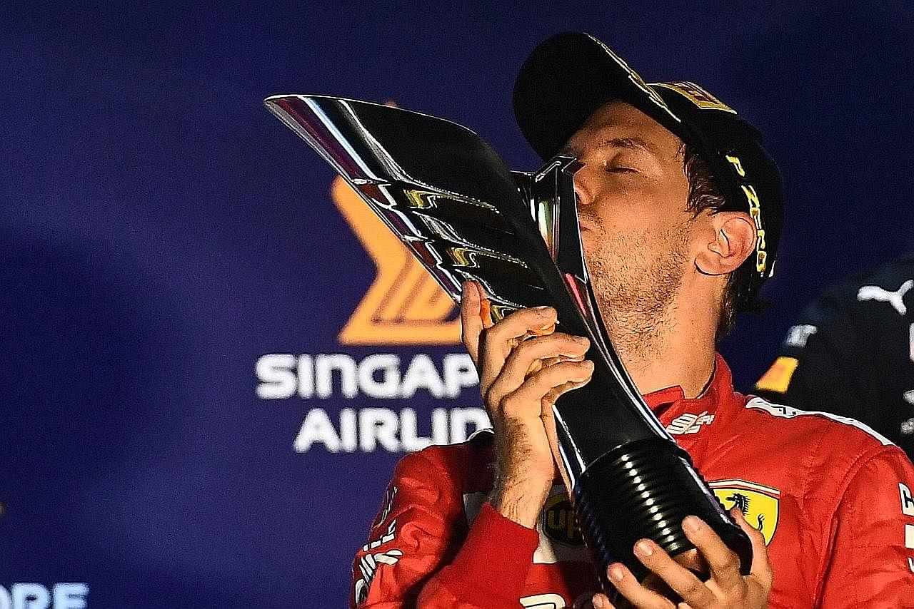 FORMULA SATU (F1) Tuah Vettel di litar S'pura