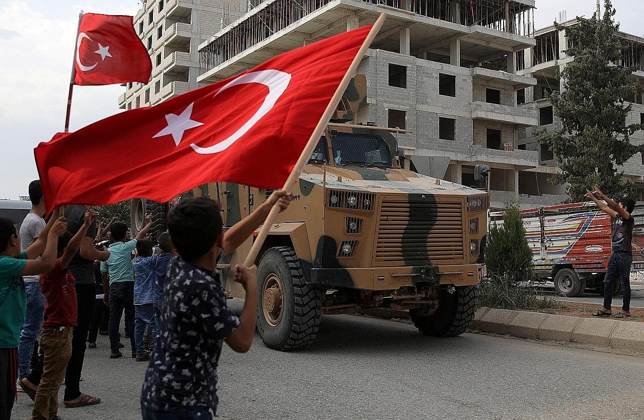Pegawai tinggi AS ke Turkey bagi perbincangan genting KONFLIK DI SYRIA