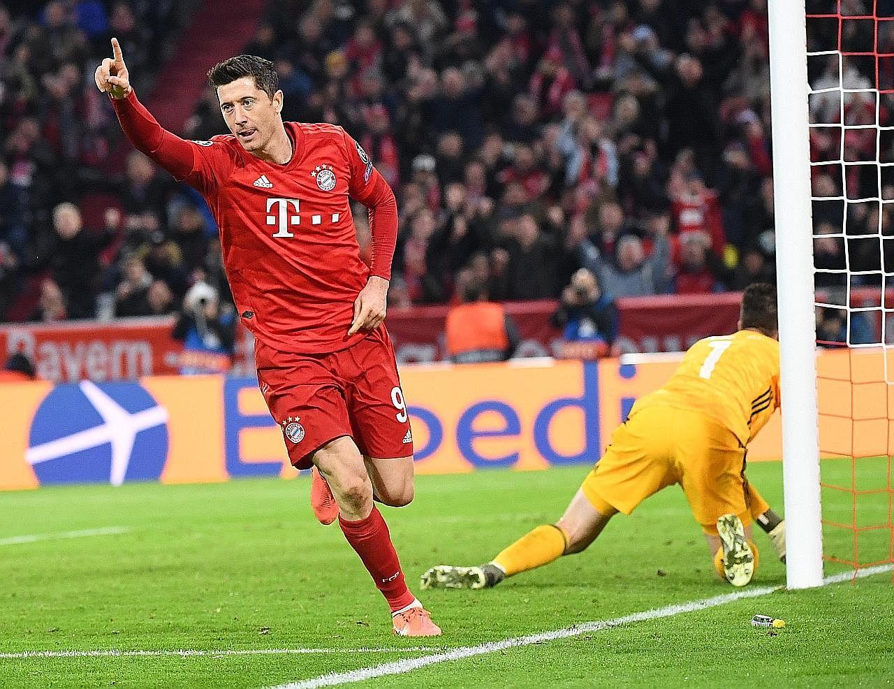 Lewandowski bawa Bayern ke peringkat kalah mati; Rodrygo cipta sejarah