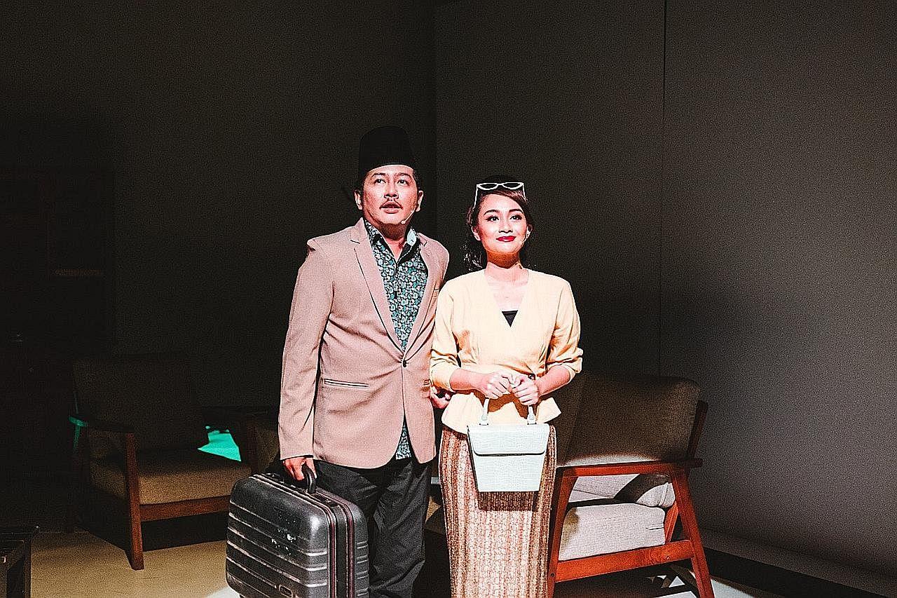 Projek Ujong Tanjong hidupkan kisah cinta P. Ramlee, Saloma