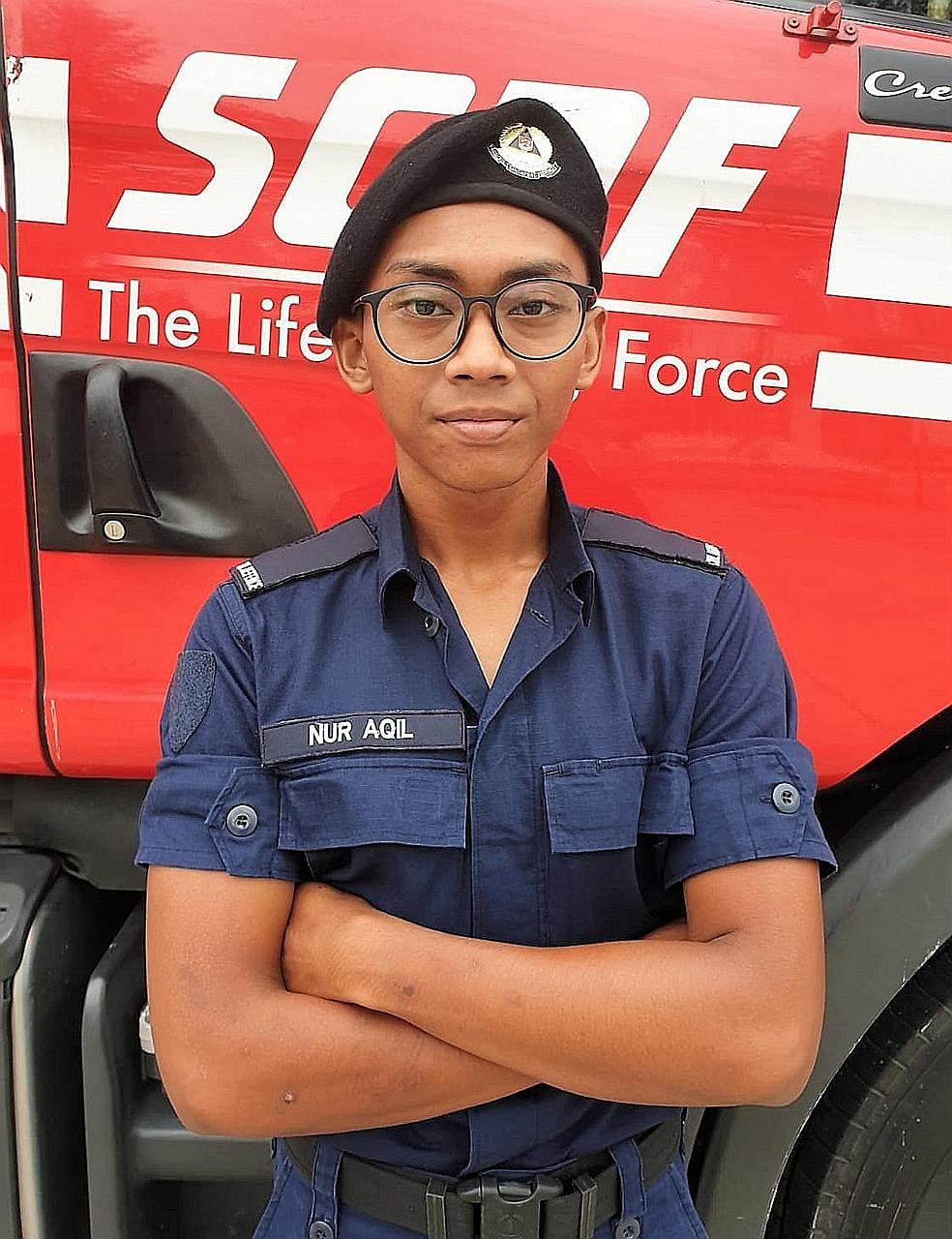DPM Heng puji tindakan pantas belia padam kebakaran