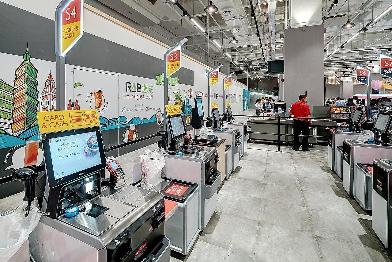 Pasar raya kini 'hi tech'