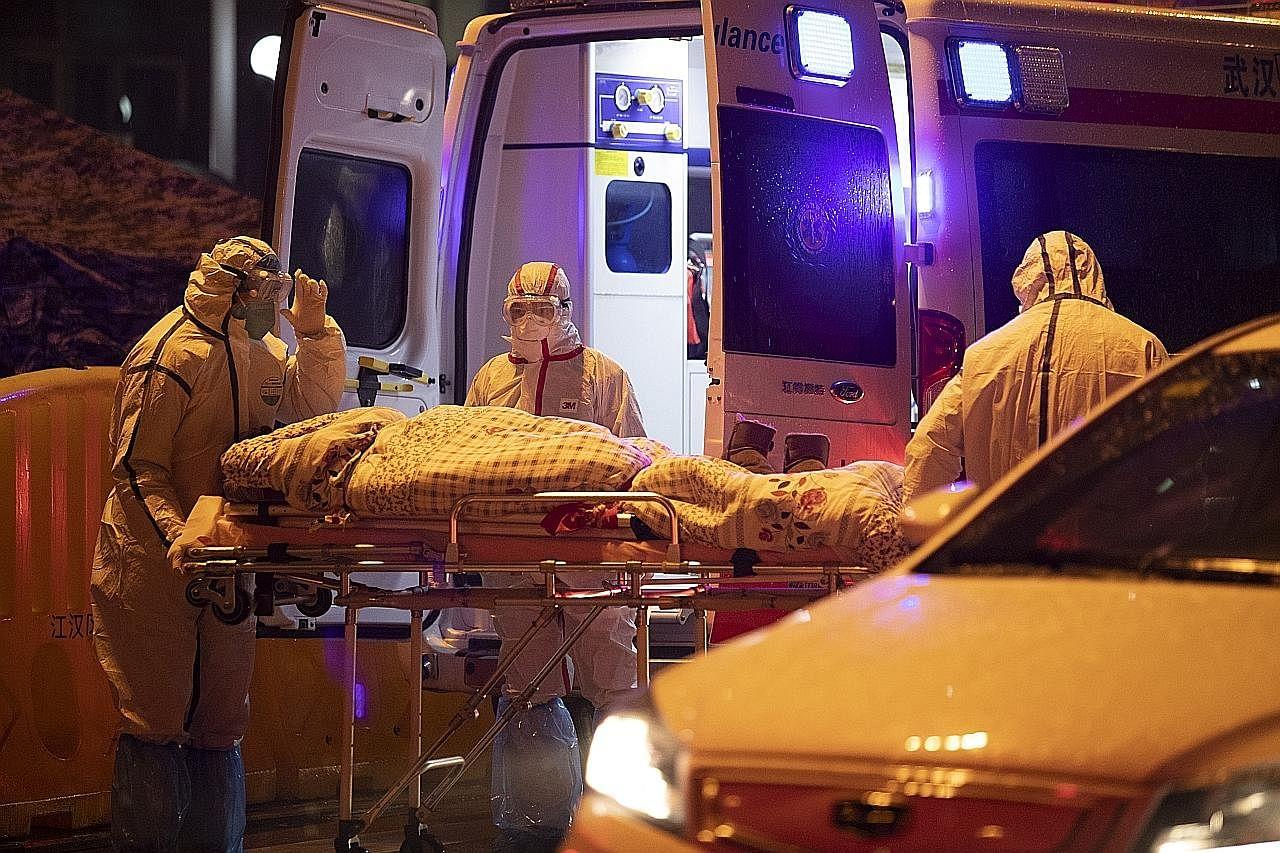 China lapor mangsa yang maut meningkat