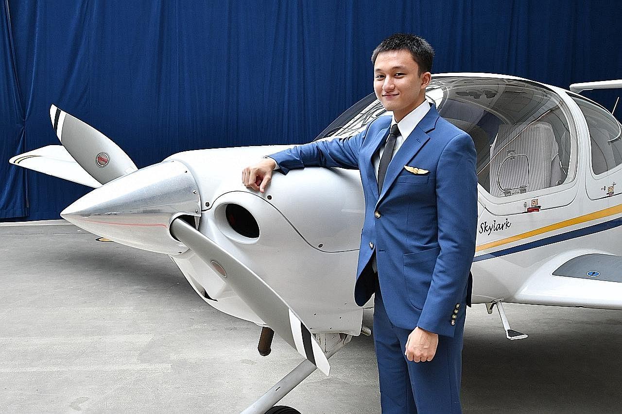 Pegawai kadet terima anugerah penerbangan