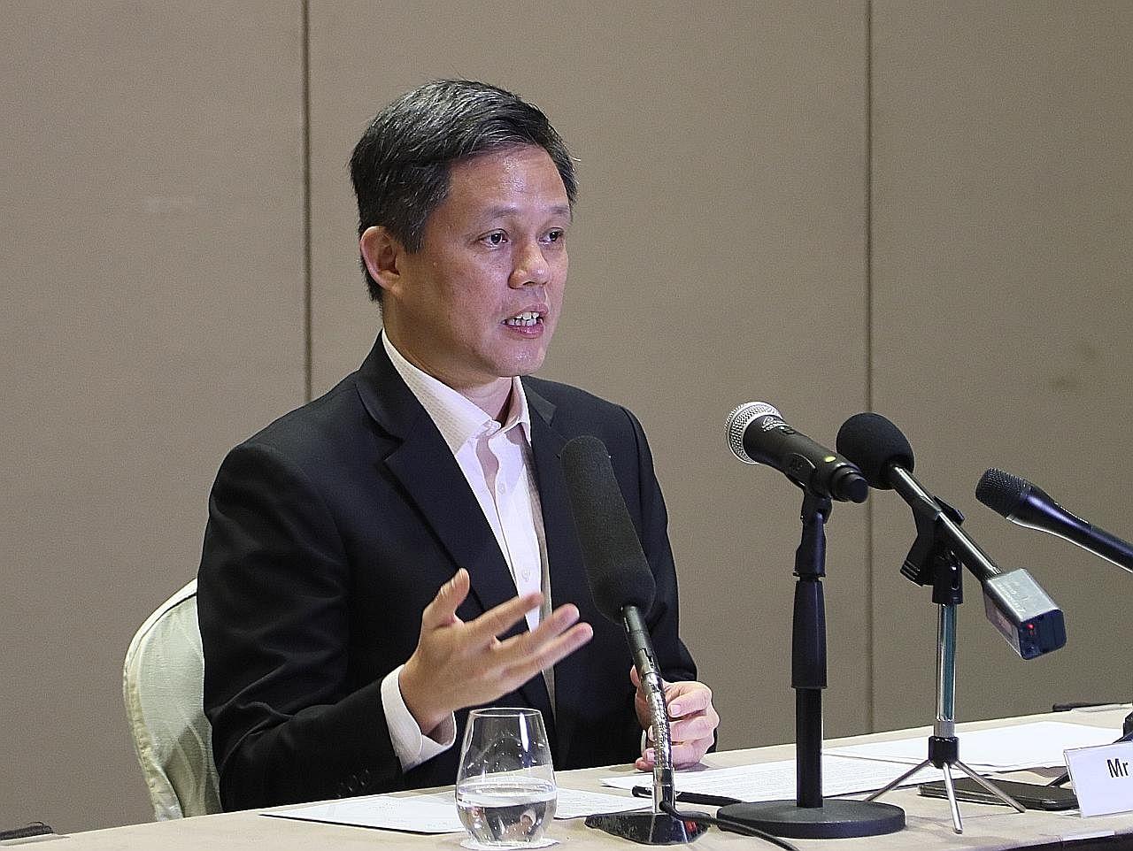 Manfaatkan peluang belajar, niaga di serata AS: Chun Sing
