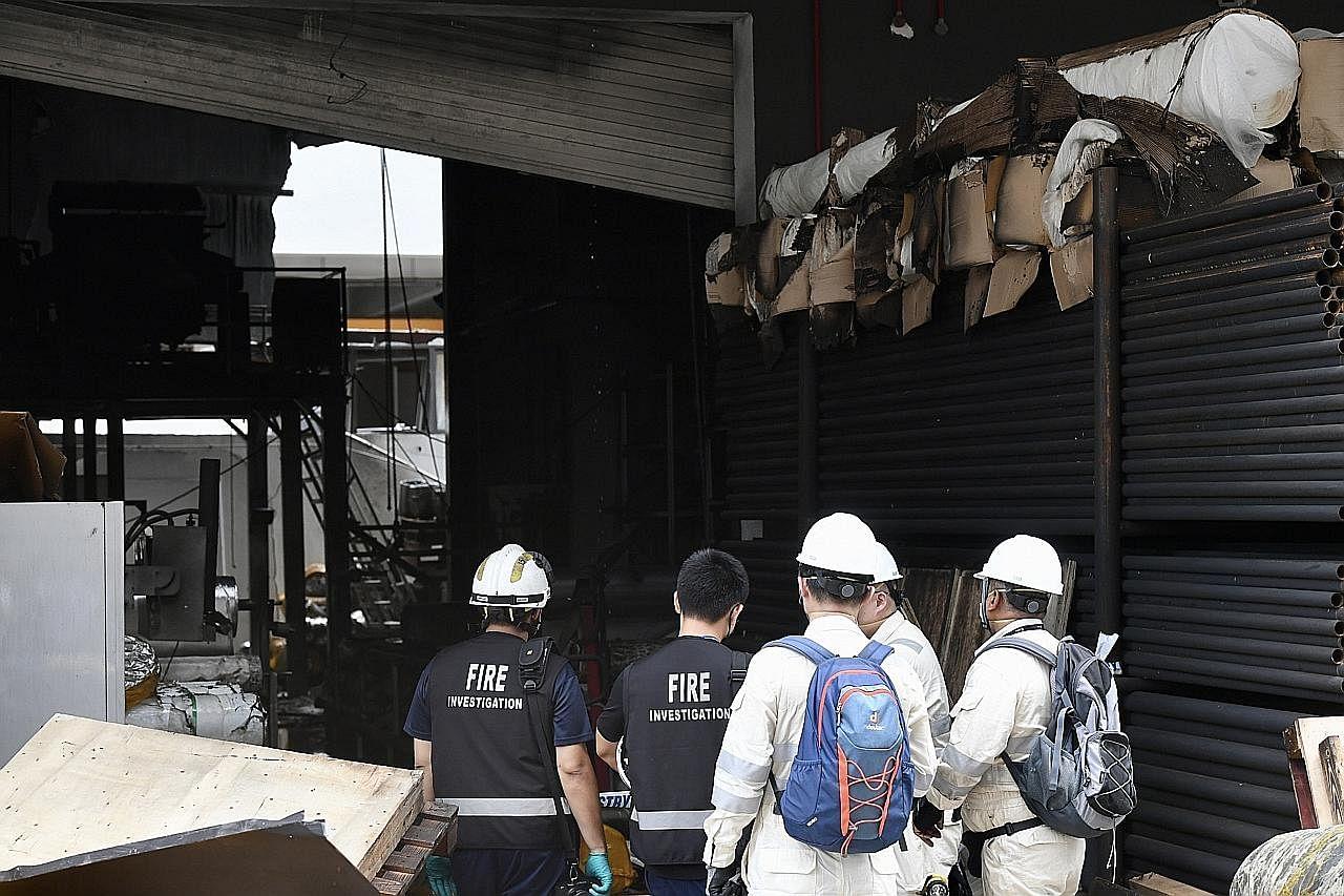 Susulan kebakaran di Tuas: 3 pekerja meninggal dunia