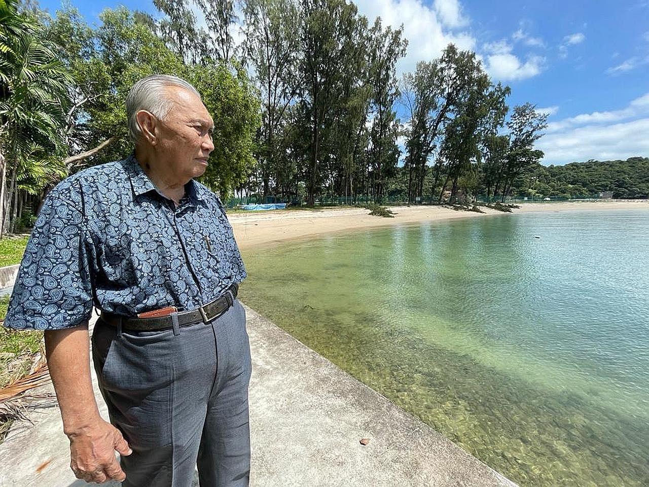 Nostalgia 'bermain' di Pulau Sekijang Pelepah