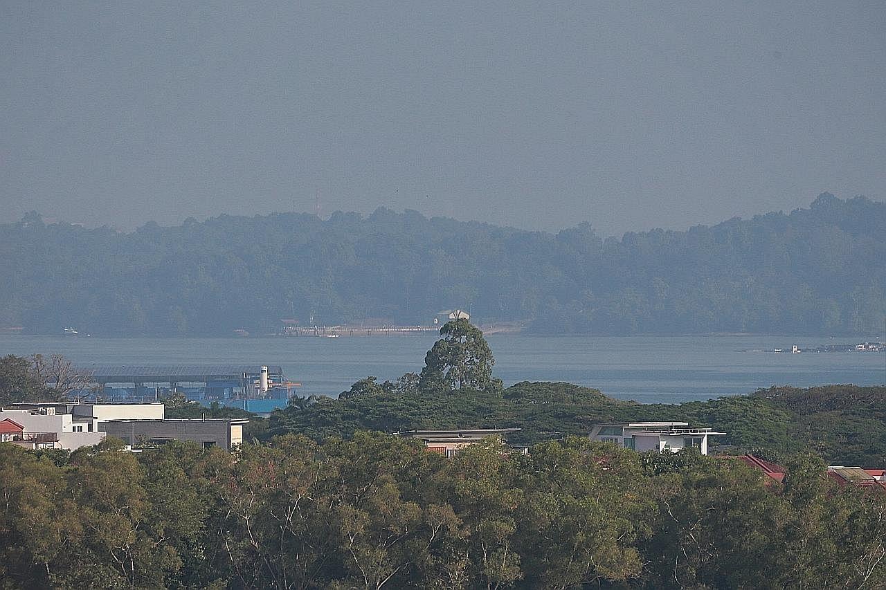 S'pura alami sedikit jerebu akibat asap ditiup dari arah timur laut: NEA