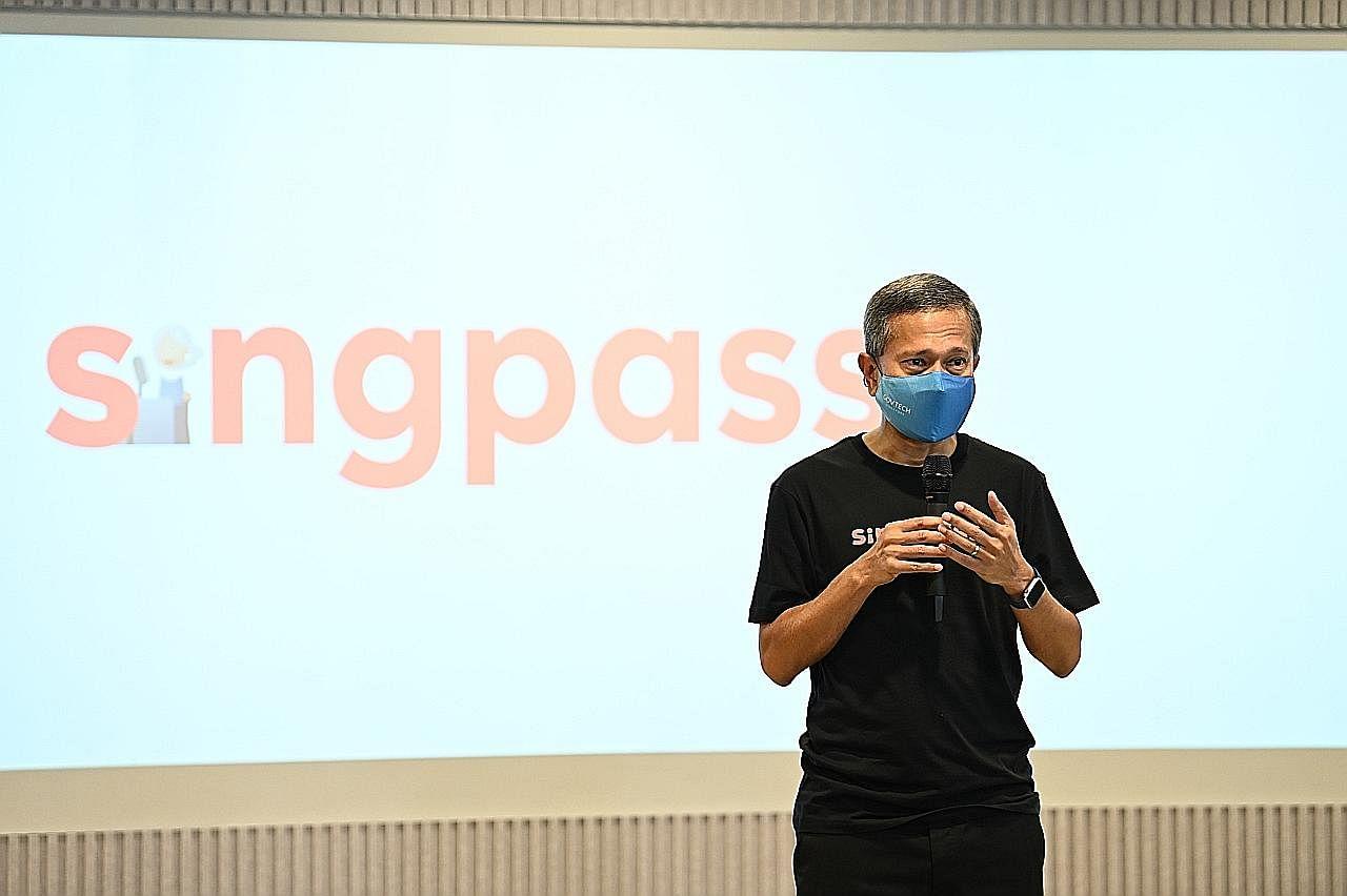 Transaksi guna SingPass naik 170j kali semasa pandemik Covid-19