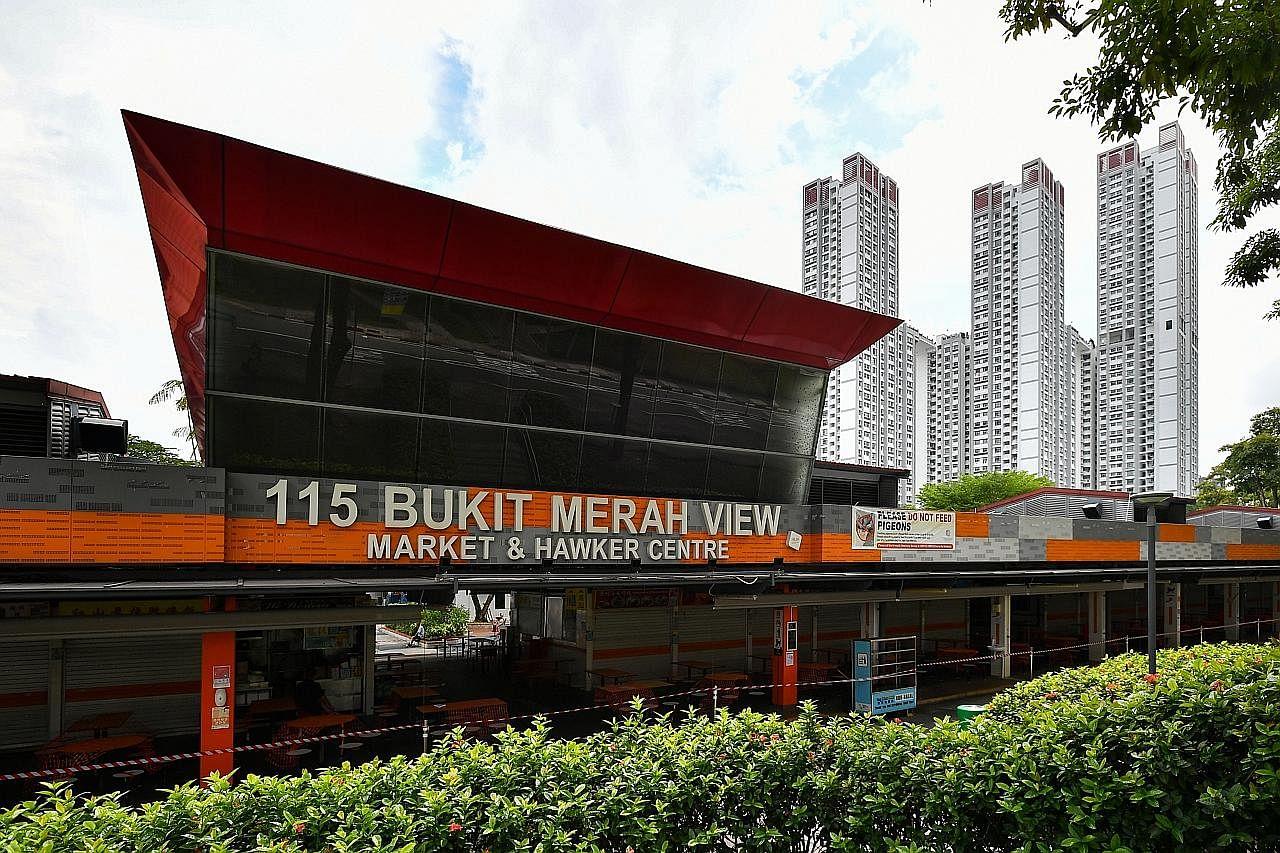 Pasar, pusat penjaja 115 Bukit Merah View ditutup hingga esok susuli kes Covid-19 kedua
