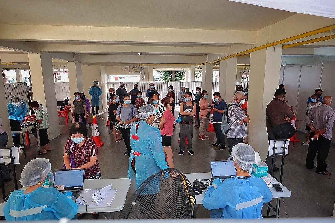 Kelompok kes di Bukit Merah: Penduduk risau, namun tenang jalani ujian swab