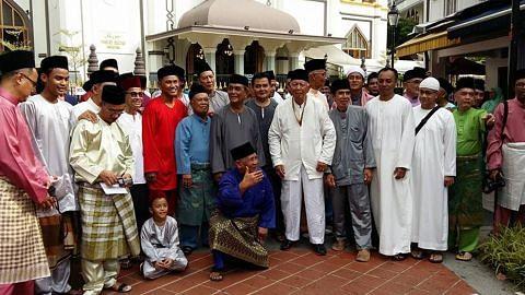 Bekas penduduk Balik Kampung@Bussorah Street