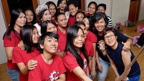 Amah Indonesia dibantu lenyapkan ketakutan dan suarakan hak