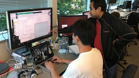 Anak Singapura pernah jadi buruan Google