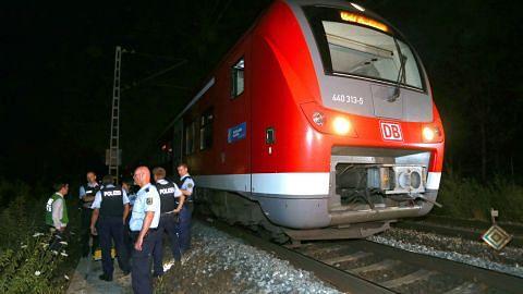 Polis Jerman tembak mati lelaki Afghan selepas serang penumpang tren