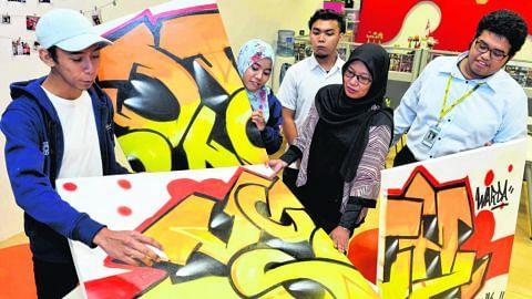 Grafiti bekal kemahiran hidup kepada pelajar