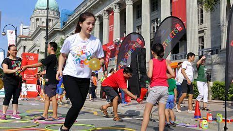 Lebih 200 kegiatan disedia untuk program 'GetActive! Singapore'