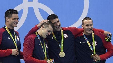 Emas ke-19 bagi Phelps