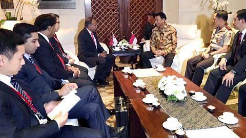 Shanmugam hadiri sidang Bali bincang isu pengganasan rentas sempadan