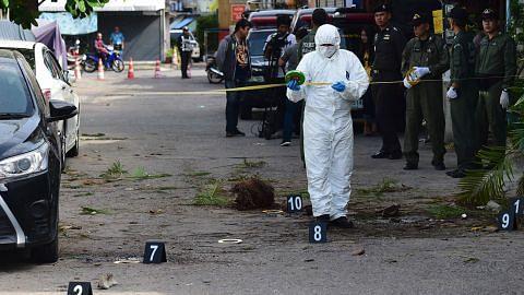PM Thai: Letupan cuba cetus kegelisahan SERANGAN DI THAILAND