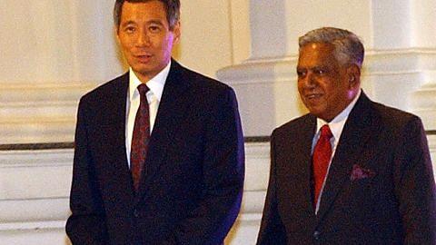 SURAT UCAPAN TAKZIAH PM Lee: Nathan anak jati Singapura