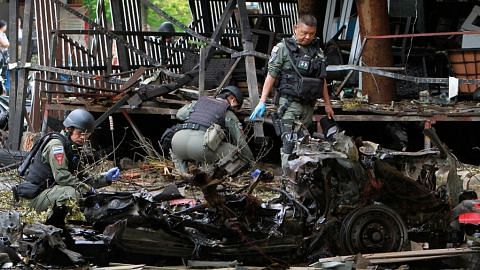 Lagi serangan bom di Thailand