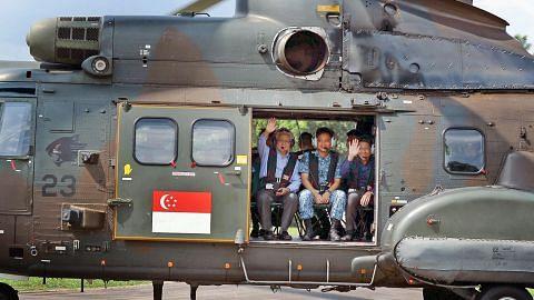 Pres Tony Tan puas hati SAF, RSAF sedia hadapi pengganas