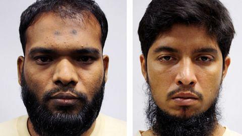 Dua pekerja asing dijel sebab biayai pengganasan