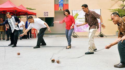 Selami warisan Melayu dengan bermain gasing