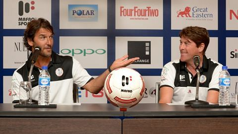 BOLA SEPAK BATTLE OF EUROPE 2016 Masters England, Masters Jerman bertekad balas dendam