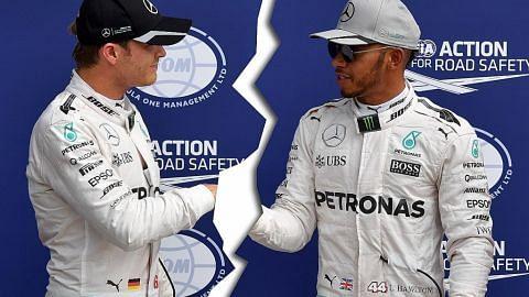 Hamilton, Rosberg sambung 'permusuhan'