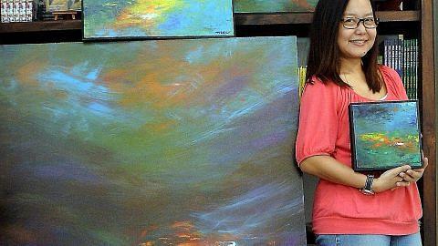 Pemilik galeri kali pertama tonjol karya di pameran yang dianjur