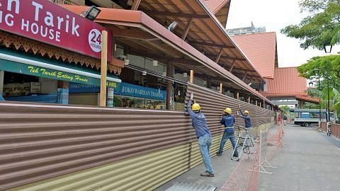 Kerja ubah elok Pasar Geylang Serai bermula