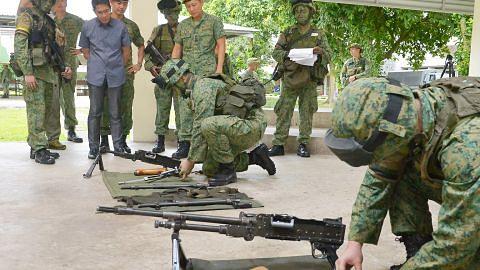 Maliki: Penting anggota kerahan kekal bersedia bagi jamin keselamatan, keamanan S'pura