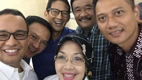 Enam calon bakal bertanding jawatan gabenor Jakarta