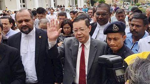 Kes rasuah Ketua Menteri Pulau Pinang beli banglo ditangguh