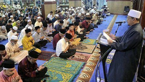 Ribuan Muslim sambut awal Muharam di Masjid Al-Istighfar