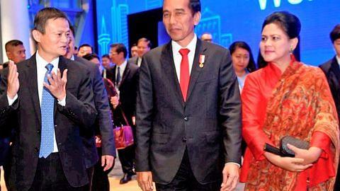 Jokowi minta bantuan Jack Ma majukan e-dagang Indonesia