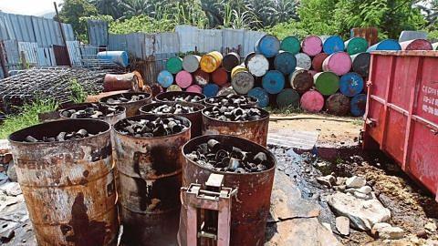 Kilang kitar semula punca pencemaran sungai di Selangor