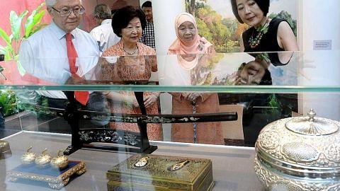 Galeri Warisan Istana dibuka rasmi