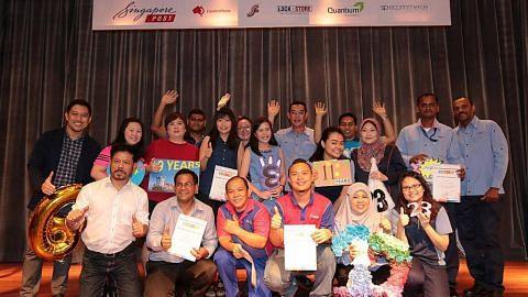 23 pekerja SingPost diiktiraf Duta Terbaik