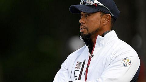 Woods tangguh lagi penampilan semula dalam kejohanan utama GOLF
