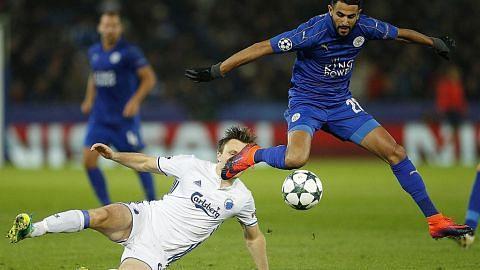 Rembatan voli Mahrez beri kemenangan kepada Leicester LIGA JUARA-JUARA EROPAH