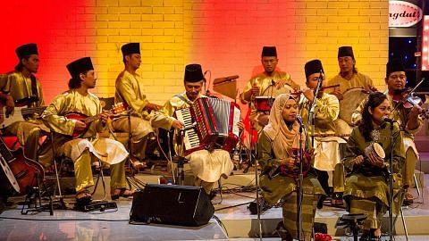 Konsert antara acara sempena Persidangan Gambus Singapura