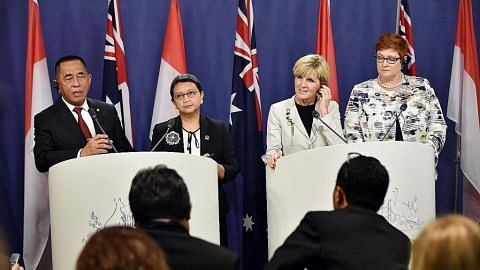 PERTIKAIAN WILAYAH DI LAUT CHINA SELATAN Australia pertimbang ronda Laut China Selatan bersama Indonesia