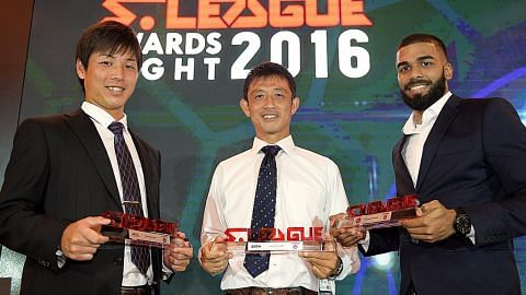 Pemain nasional muda halang Albirex sapu semua anugerah utama MALAM ANUGERAH LIGA-S