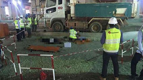 Dua pekerja maut selepas dilanggar trak di tapak binaan di Mandai