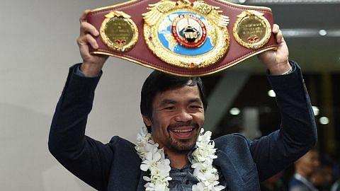 Pacquiao 'cabar' Mayweather bagi pertarungan ulangan TINJU