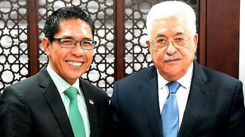 Maliki ulangi komitmen S'pura sokong usaha bina keupayaan rakyat Palestin