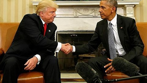 Obama, Trump temu bincang peralihan kuasa